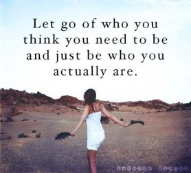 let go be you