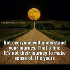 my journey is not your journey