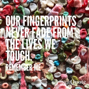 Bubblegum Fingerprints