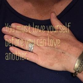 Love yourself - my hand my heart